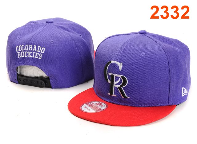 Colorado Rockies MLB Snapback Hat PT095